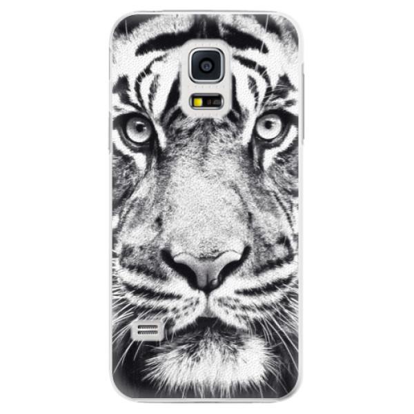 Plastové pouzdro iSaprio - Tiger Face - Samsung Galaxy S5 Mini