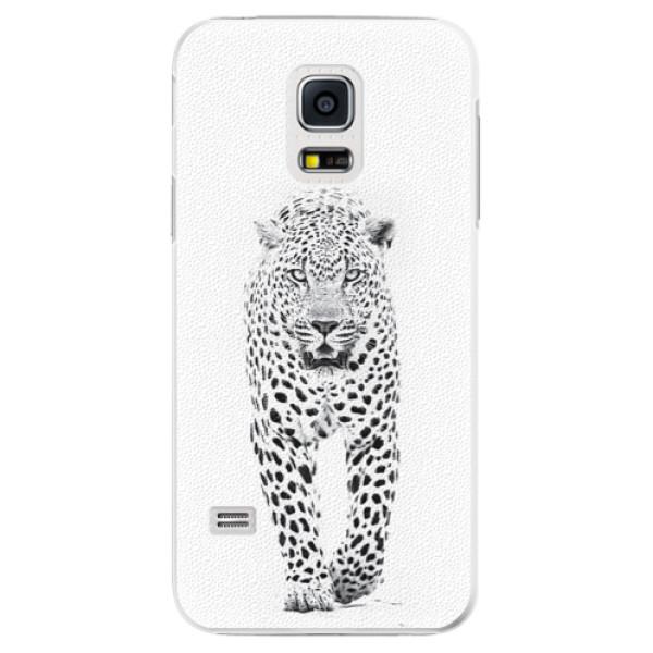 Plastové pouzdro iSaprio - White Jaguar - Samsung Galaxy S5 Mini