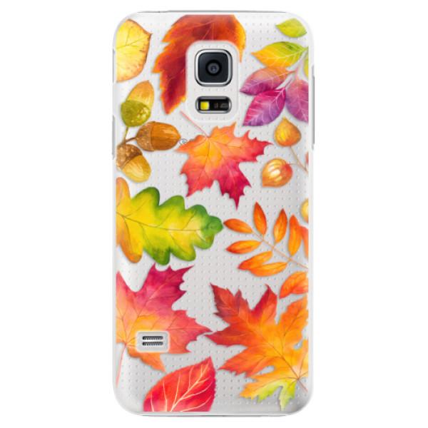Plastové pouzdro iSaprio - Autumn Leaves 01 - Samsung Galaxy S5 Mini