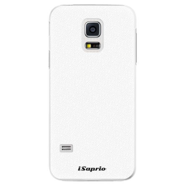 Plastové pouzdro iSaprio - 4Pure - bílý - Samsung Galaxy S5 Mini