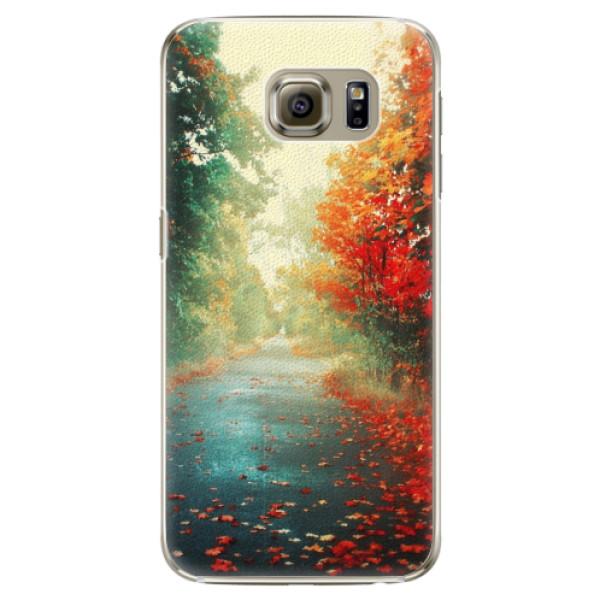 Plastové pouzdro iSaprio - Autumn 03 - Samsung Galaxy S6