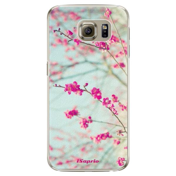 Plastové pouzdro iSaprio - Blossom 01 - Samsung Galaxy S6 Edge