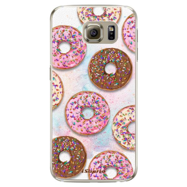 Plastové pouzdro iSaprio - Donuts 11 - Samsung Galaxy S6 Edge