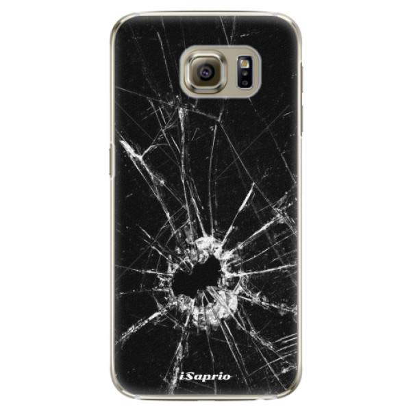 Plastové pouzdro iSaprio - Broken Glass 10 - Samsung Galaxy S6 Edge