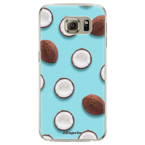 Plastové pouzdro iSaprio - Coconut 01 - Samsung Galaxy S6 Edge