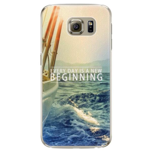 Plastové pouzdro iSaprio - Beginning - Samsung Galaxy S6 Edge