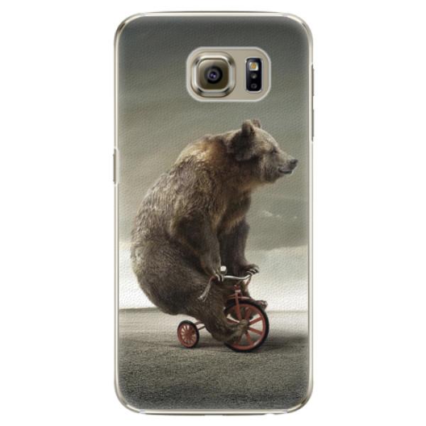 Plastové pouzdro iSaprio - Bear 01 - Samsung Galaxy S6 Edge