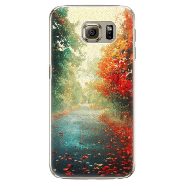 Plastové pouzdro iSaprio - Autumn 03 - Samsung Galaxy S6 Edge