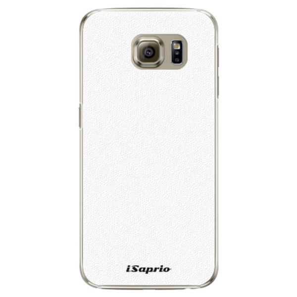 Plastové pouzdro iSaprio - 4Pure - bílý - Samsung Galaxy S6 Edge