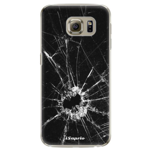 Plastové pouzdro iSaprio - Broken Glass 10 - Samsung Galaxy S6 Edge Plus