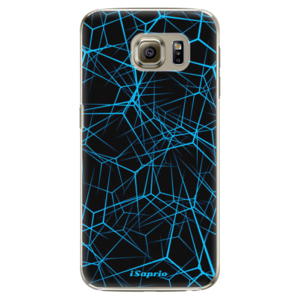 Plastové pouzdro iSaprio - Abstract Outlines 12 - Samsung Galaxy S6 Edge Plus