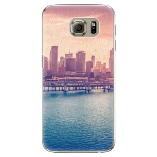 Plastové pouzdro iSaprio - Morning in a City - Samsung Galaxy S6 Edge Plus