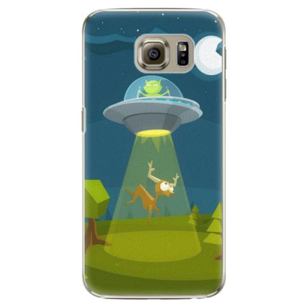 Plastové pouzdro iSaprio - Alien 01 - Samsung Galaxy S6 Edge Plus