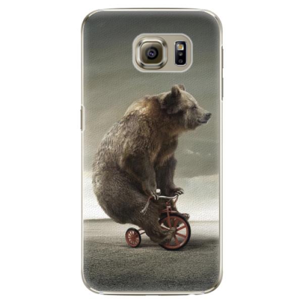 Plastové pouzdro iSaprio - Bear 01 - Samsung Galaxy S6 Edge Plus
