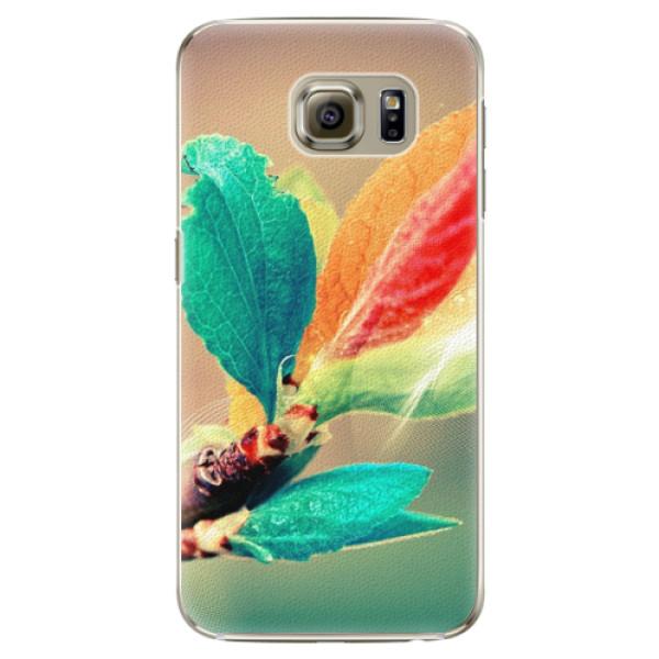 Plastové pouzdro iSaprio - Autumn 02 - Samsung Galaxy S6 Edge Plus