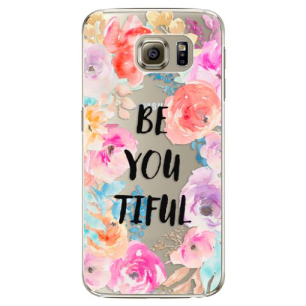Plastové pouzdro iSaprio - BeYouTiful - Samsung Galaxy S6 Edge Plus
