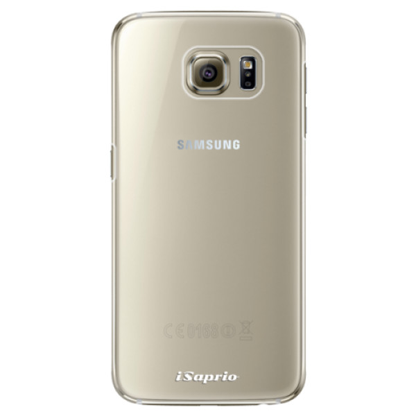 Plastové pouzdro iSaprio - 4Pure - mléčný bez potisku - Samsung Galaxy S6 Edge Plus