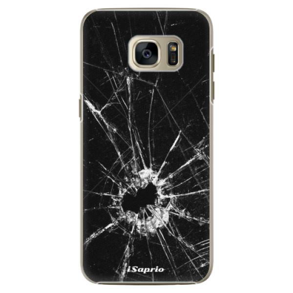 Plastové pouzdro iSaprio - Broken Glass 10 - Samsung Galaxy S7
