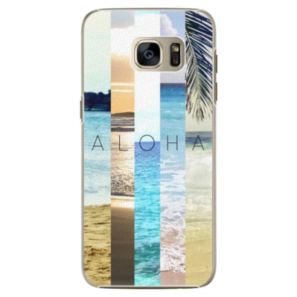 Plastové pouzdro iSaprio - Aloha 02 - Samsung Galaxy S7
