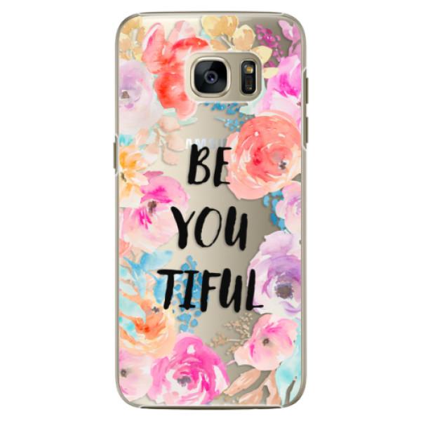Plastové pouzdro iSaprio - BeYouTiful - Samsung Galaxy S7