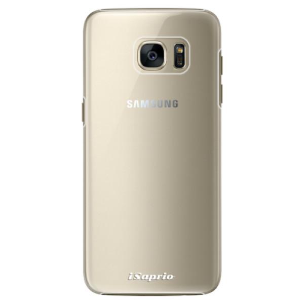 Plastové pouzdro iSaprio - 4Pure - mléčný bez potisku - Samsung Galaxy S7