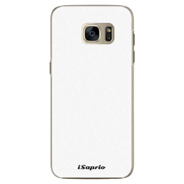 Plastové pouzdro iSaprio - 4Pure - bílý - Samsung Galaxy S7