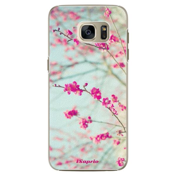 Plastové pouzdro iSaprio - Blossom 01 - Samsung Galaxy S7 Edge