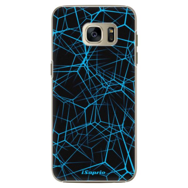 Plastové pouzdro iSaprio - Abstract Outlines 12 - Samsung Galaxy S7 Edge
