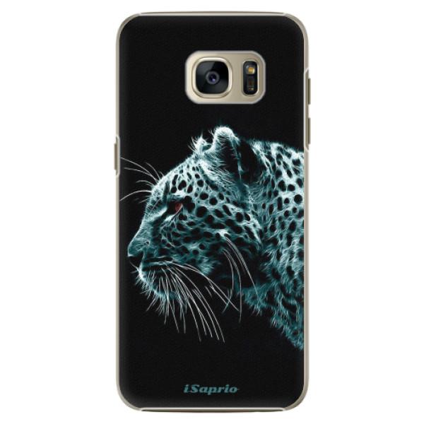 Plastové pouzdro iSaprio - Leopard 10 - Samsung Galaxy S7 Edge
