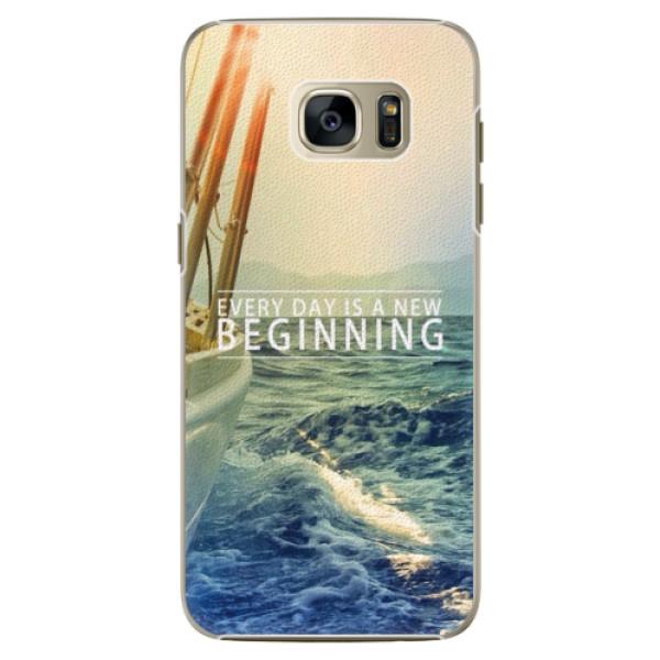Plastové pouzdro iSaprio - Beginning - Samsung Galaxy S7 Edge