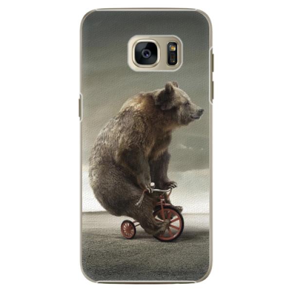 Plastové pouzdro iSaprio - Bear 01 - Samsung Galaxy S7 Edge