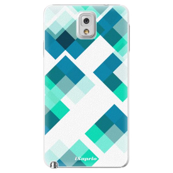 Plastové pouzdro iSaprio - Abstract Squares 11 - Samsung Galaxy Note 3