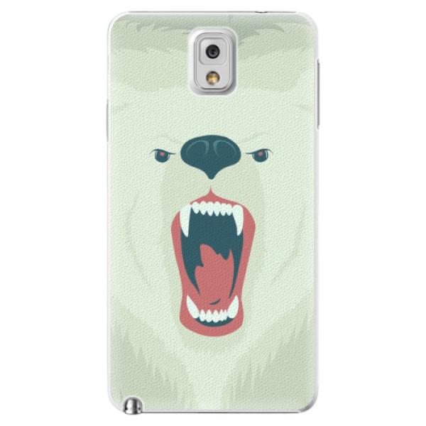 Plastové pouzdro iSaprio - Angry Bear - Samsung Galaxy Note 3