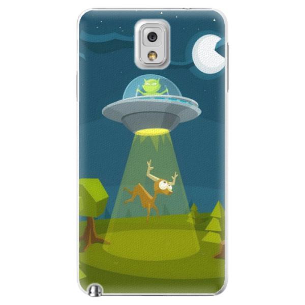 Plastové pouzdro iSaprio - Alien 01 - Samsung Galaxy Note 3