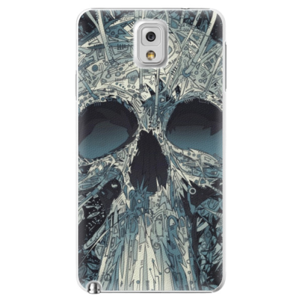 Plastové pouzdro iSaprio - Abstract Skull - Samsung Galaxy Note 3