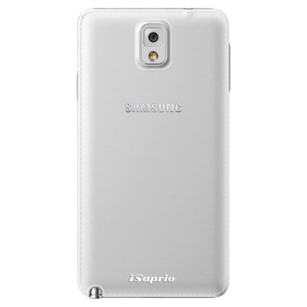 Plastové pouzdro iSaprio - 4Pure - mléčný bez potisku - Samsung Galaxy Note 3
