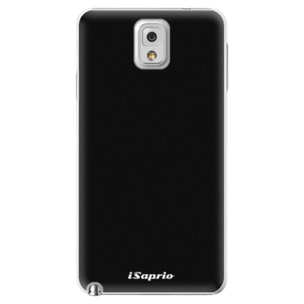 Plastové pouzdro iSaprio - 4Pure - černý - Samsung Galaxy Note 3
