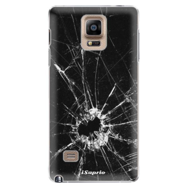 Plastové pouzdro iSaprio - Broken Glass 10 - Samsung Galaxy Note 4