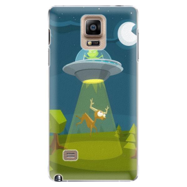 Plastové pouzdro iSaprio - Alien 01 - Samsung Galaxy Note 4