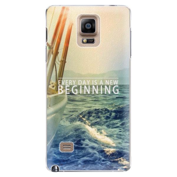 Plastové pouzdro iSaprio - Beginning - Samsung Galaxy Note 4