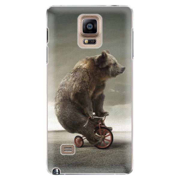 Plastové pouzdro iSaprio - Bear 01 - Samsung Galaxy Note 4