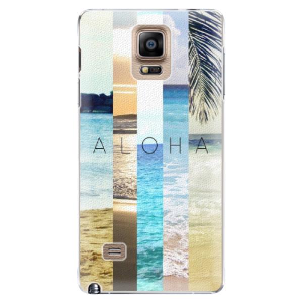 Plastové pouzdro iSaprio - Aloha 02 - Samsung Galaxy Note 4