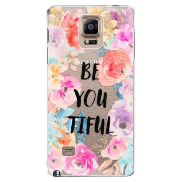 Plastové pouzdro iSaprio - BeYouTiful - Samsung Galaxy Note 4