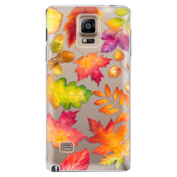 Plastové pouzdro iSaprio - Autumn Leaves 01 - Samsung Galaxy Note 4