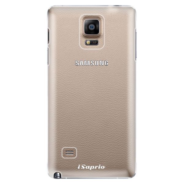Plastové pouzdro iSaprio - 4Pure - mléčný bez potisku - Samsung Galaxy Note 4