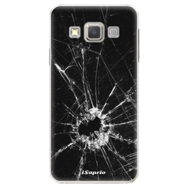 Plastové pouzdro iSaprio - Broken Glass 10 - Samsung Galaxy A3