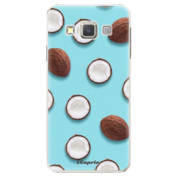Plastové pouzdro iSaprio - Coconut 01 - Samsung Galaxy A3