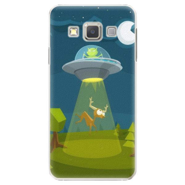 Plastové pouzdro iSaprio - Alien 01 - Samsung Galaxy A3
