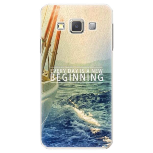 Plastové pouzdro iSaprio - Beginning - Samsung Galaxy A3