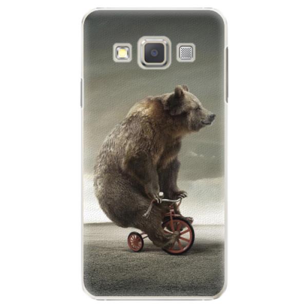 Plastové pouzdro iSaprio - Bear 01 - Samsung Galaxy A3